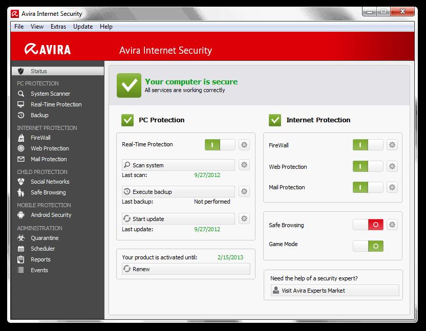 avira ücretsiz antivirüs