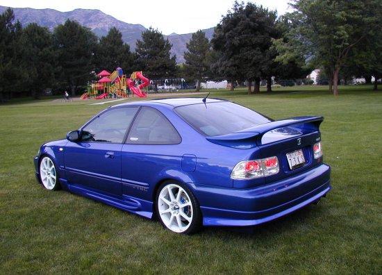 Honda Civic LS ile ES