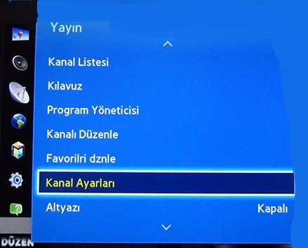 Samsung Tv Kanal Listesi