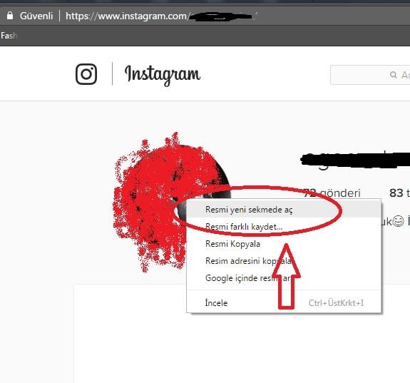 instagram profil resmi büyütme