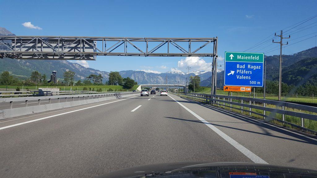 Bad-Ragaz-Yolu-autobahn