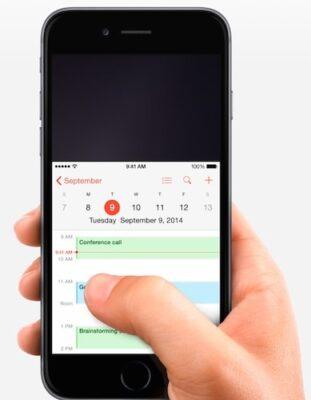 iphone ekran sürekli aşağı kayıyor